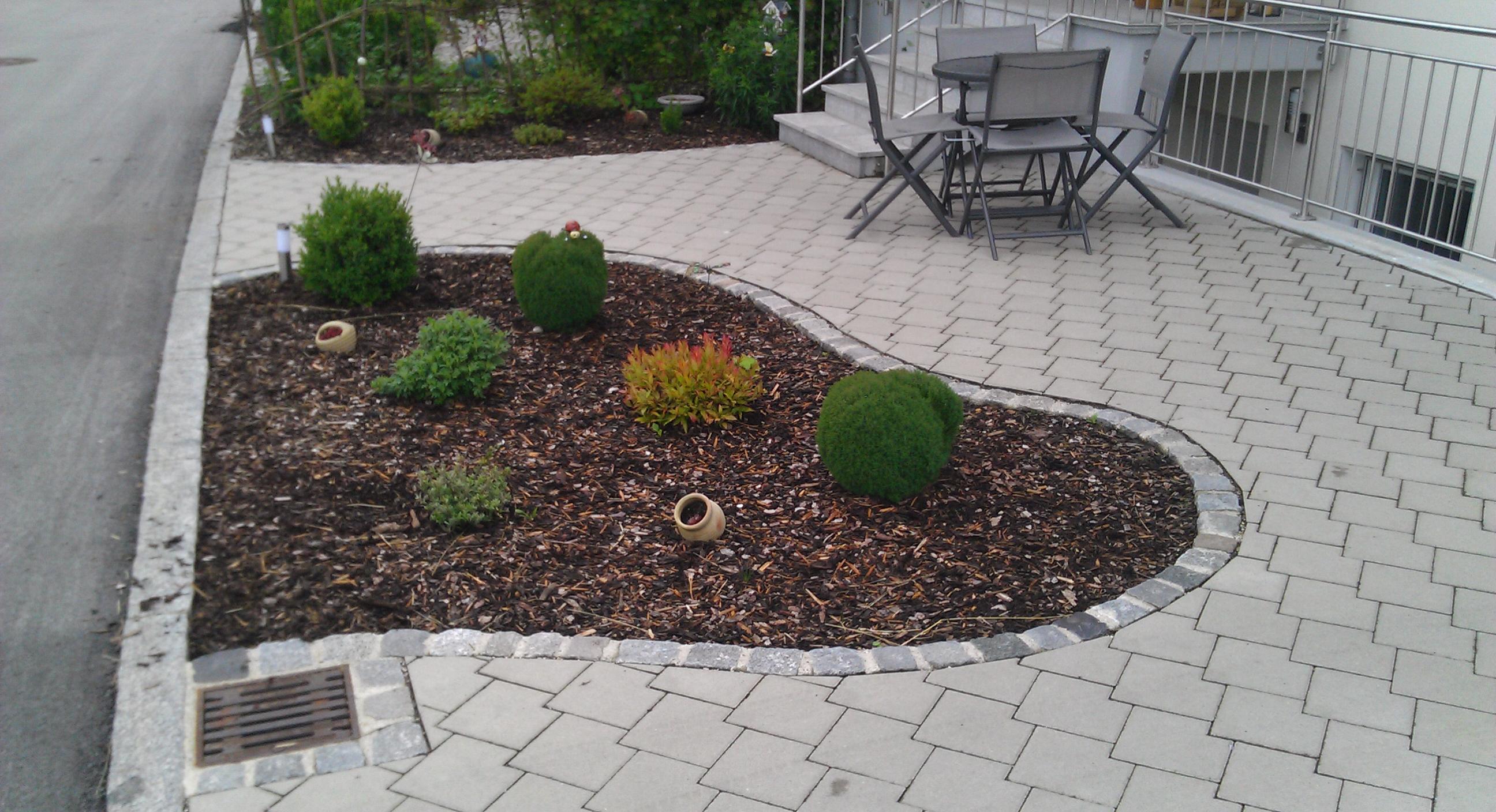 Pflasterarbeiten freilassing christian fuchsbichler for Gartengestaltung hauseingang