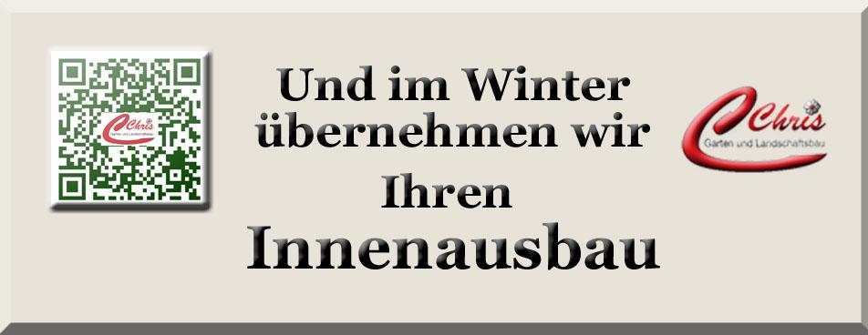 Innenausbau im Winter
